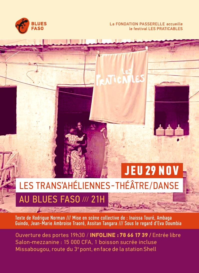 Les Praticables au Blues Faso, Fondation Passerelle