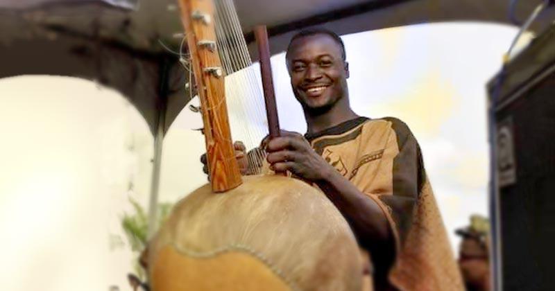 Ousmane Ouattara concert live au Blues Faso, Bamako